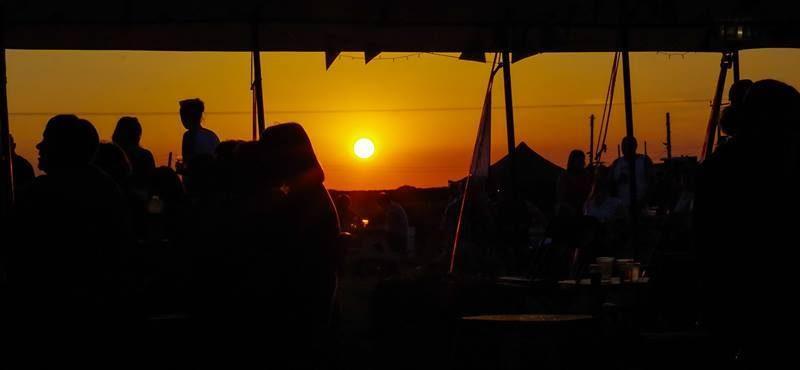 Sunset on the Festival