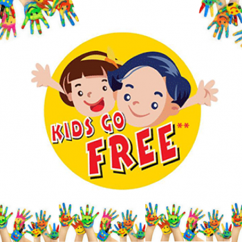 Mums & Dads; KIDS GO FREE!
