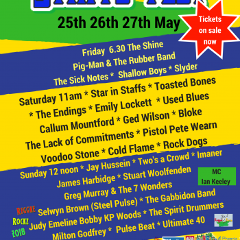 Staffs Fest – The Line Up