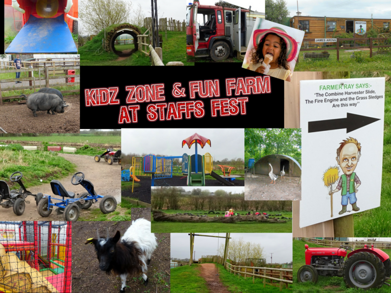 Farm Check for Staffs Fest & Festival Kids