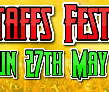 Sunday 27th at Staffs Fest – 12 start