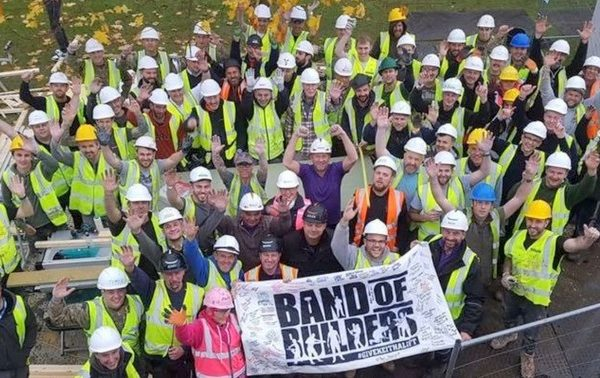 Our charity 'Band of Builders'