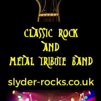Slyder Headlining on Saturday in the Main Marquee