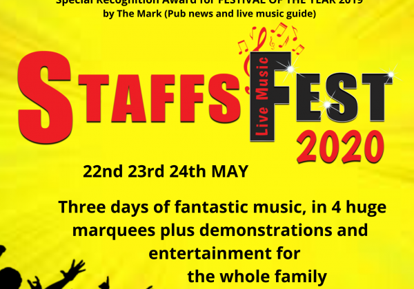 Gearing up for Staffs Fest 2020