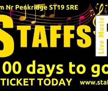 100 days to go until Staffs Fest 2020