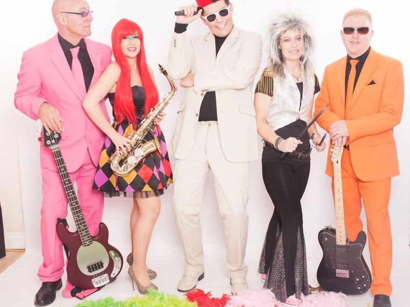 70's, 80's and 90s pop and rock music at Staffs Fest