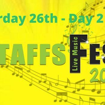 Saturday at Staffs Fest 26th June