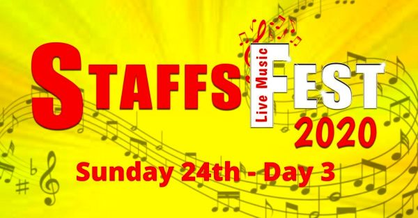 Sunday at Staffs Fest 24th May – Day 3