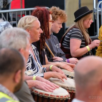 Free African Drumming Workshops with Rocky