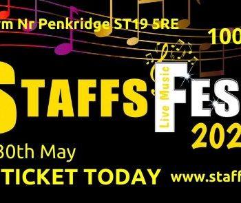 100 days to go until Staffs Fest 2021