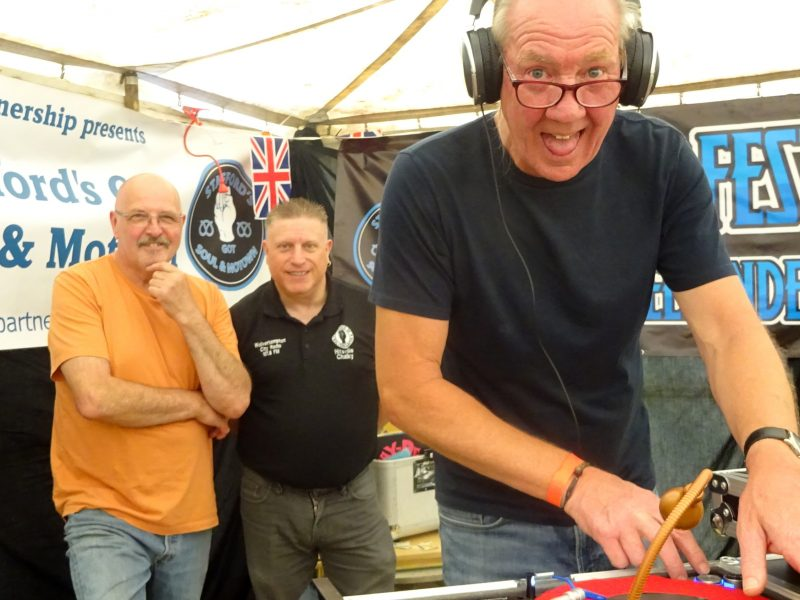 Northern Soul DJs Dave Thomas, Hitsville Chalky & Les Beaton