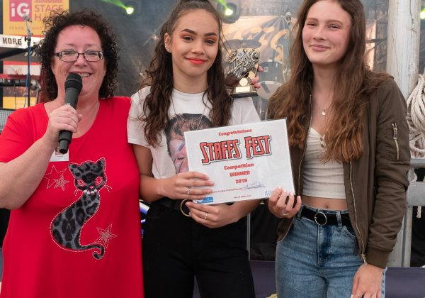 The finalists for Star in Staffs 2019 at Staffs Fest