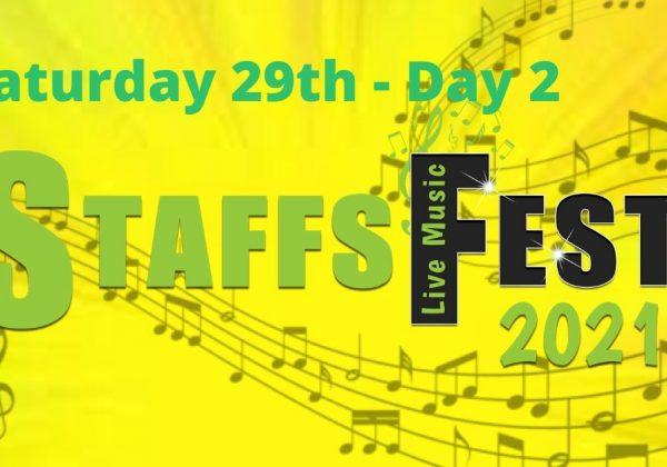 Saturday at Staffs Fest 29th May