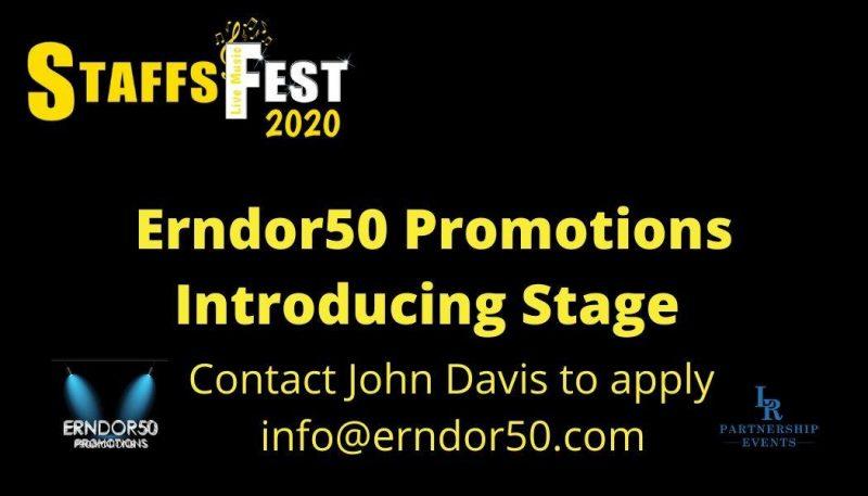 Erndor50 Introducing Stage at Staffs Fest